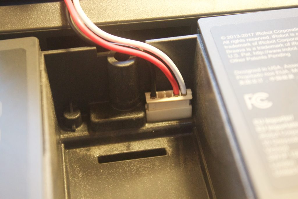 ブラーバ激安バッテリー交換の仕方