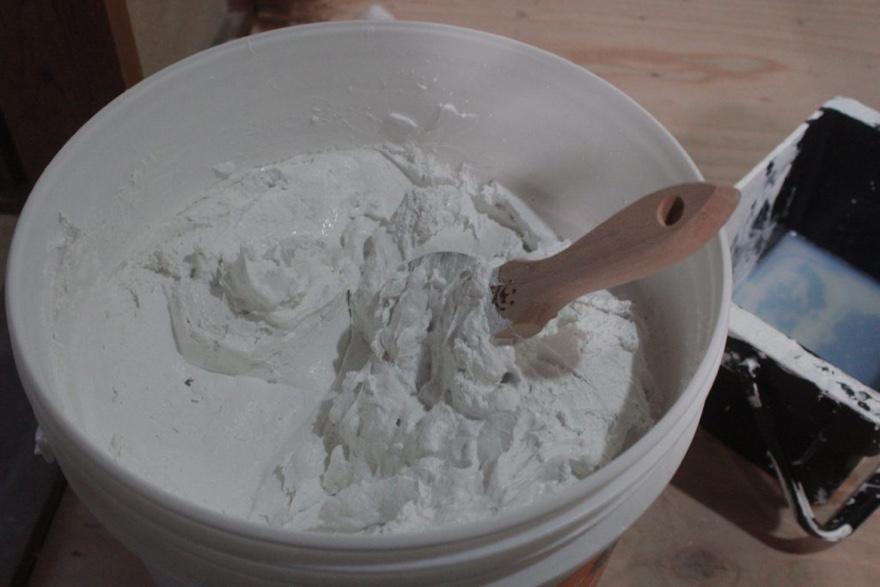 漆喰を塗ろう