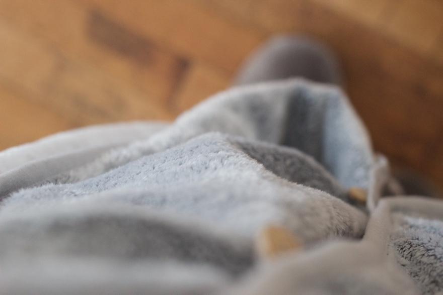 ニトリの着る毛布