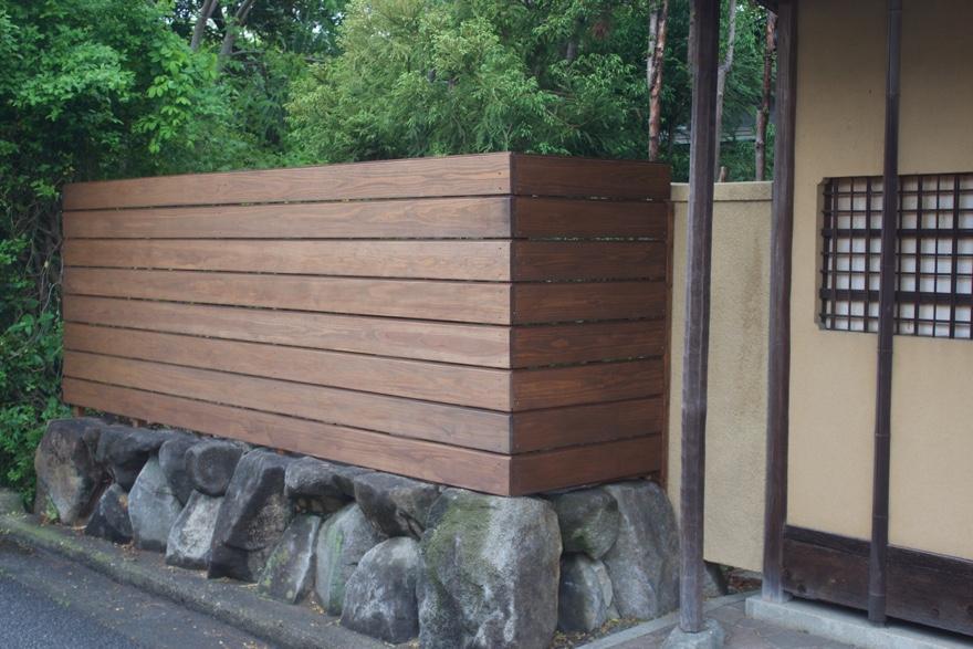 庭にDIYでフェンスを建てる方法