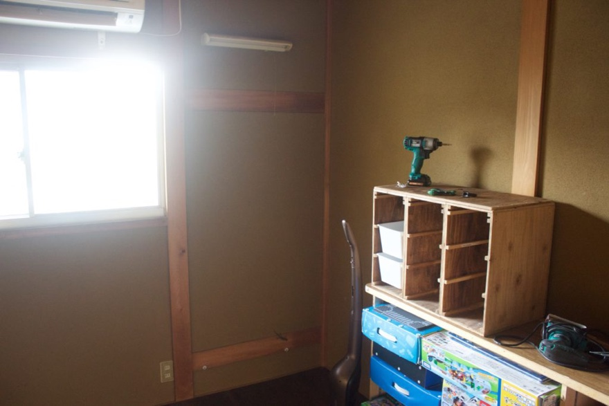 子供部屋DIYの下準備