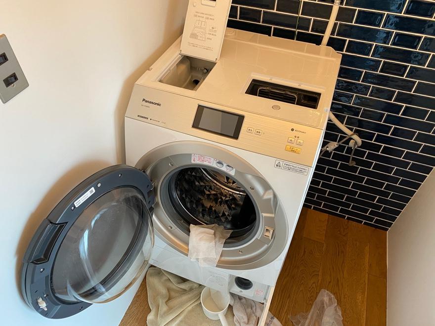 ドラム式洗濯機の大掃除
