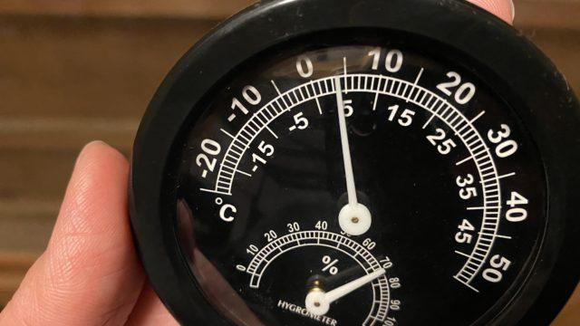 室内温度3度
