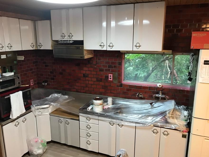 築50年のキッチン