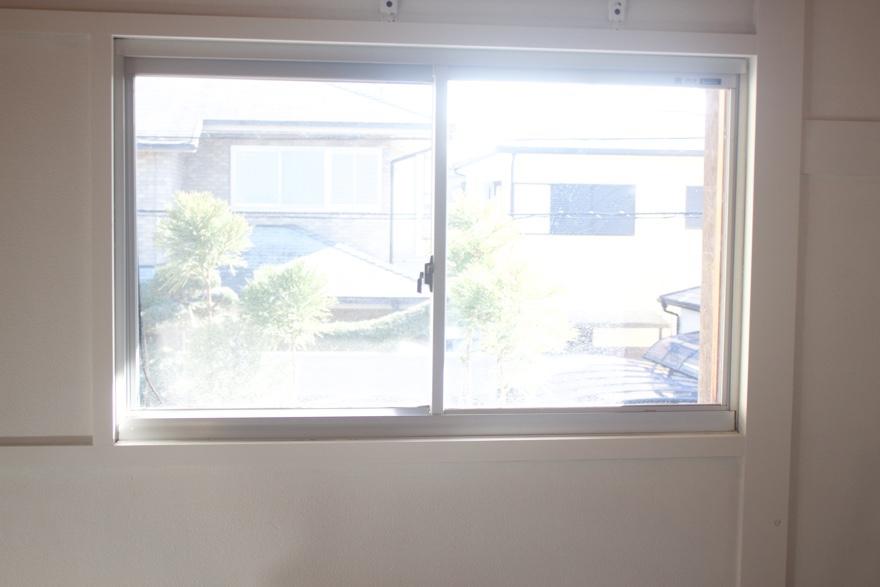 アルミサッシ窓を二重窓に