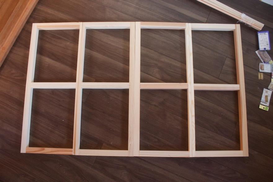 二重窓を作って断熱効果を高める