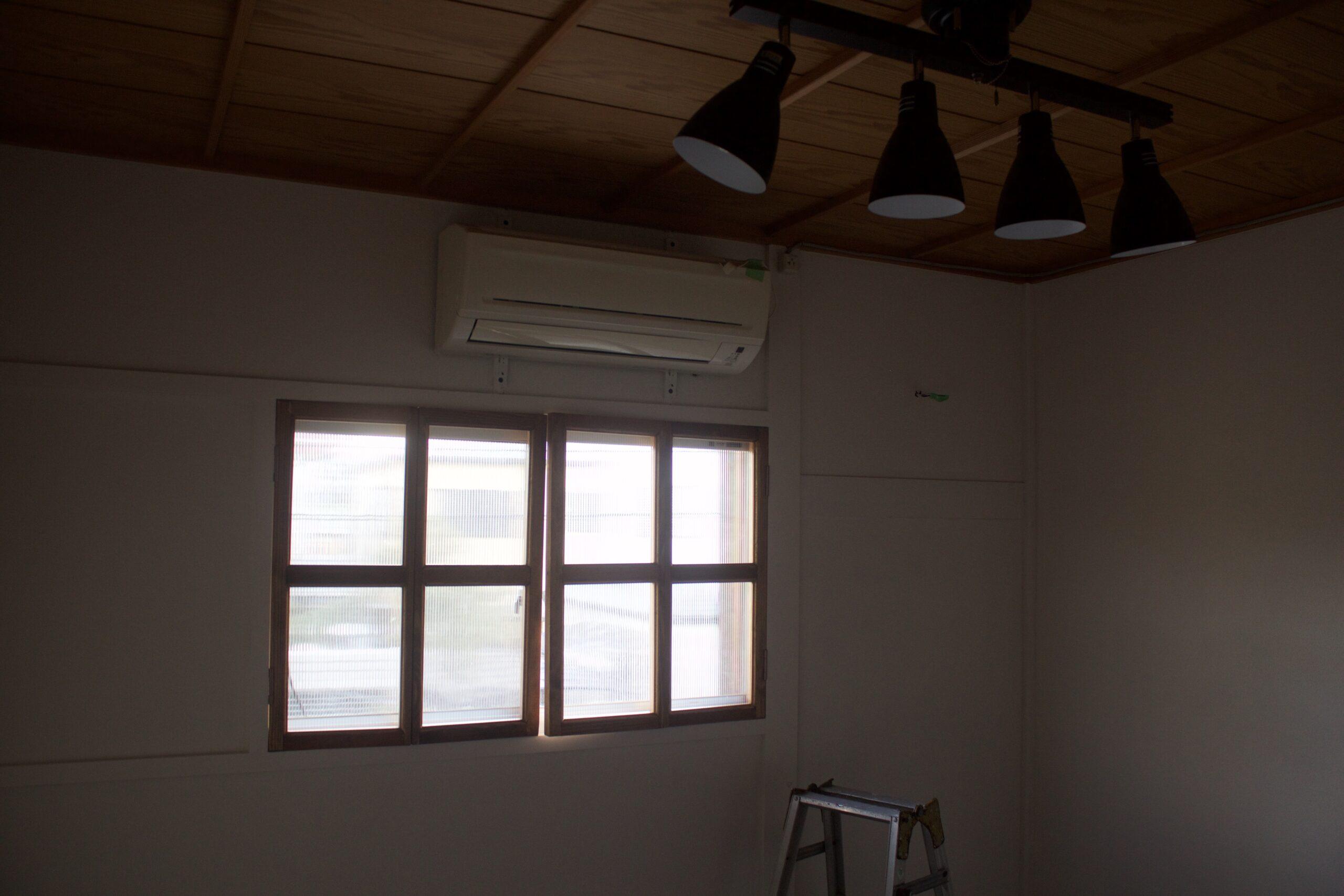 二重窓をDIY